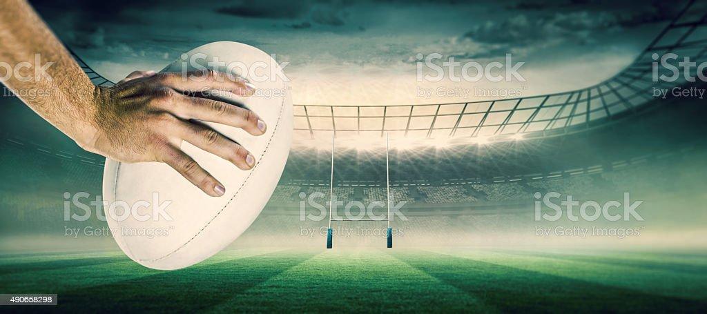 image Composite du joueur de rugby-Score - Photo