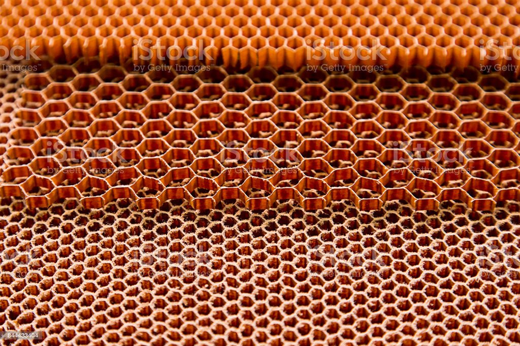 Composite materials. honeycomb stock photo