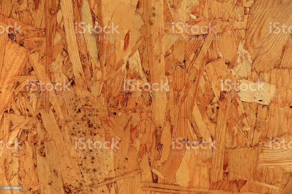 Composite plywood texture board background. stock photo