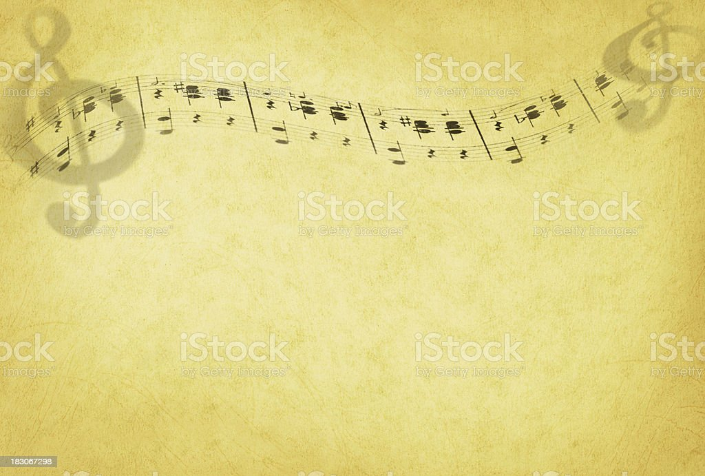 Composition Background On Grunge Paper stock photo