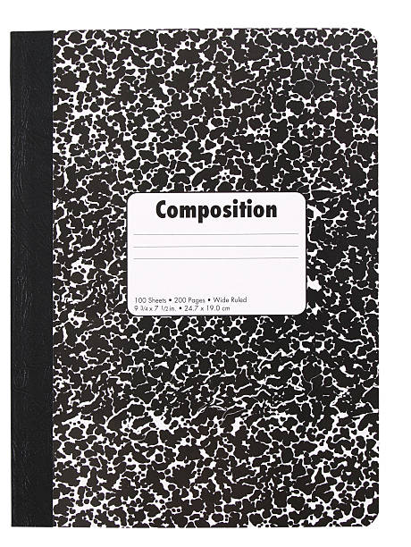 Composition Book stock photo