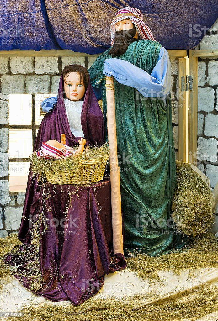 Composition - Jesus Christmas royalty-free stock photo