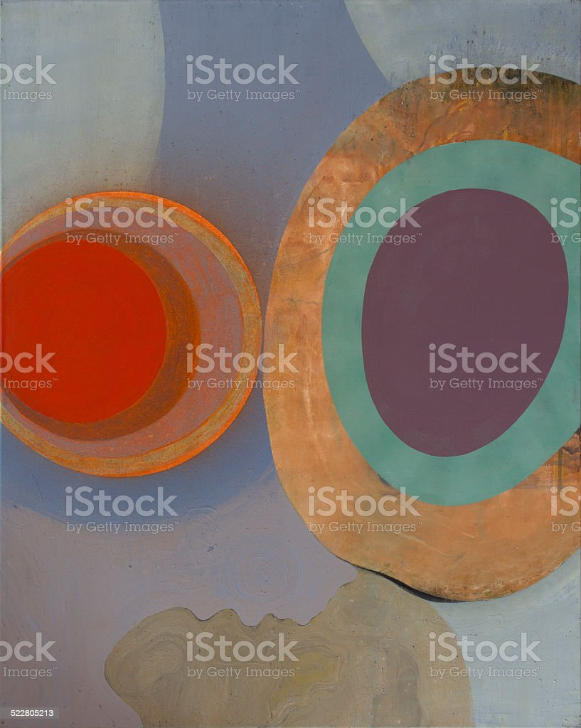 Composition of cells stock photo