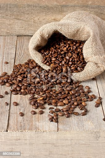istock Composition with  coffee  beans 880363398
