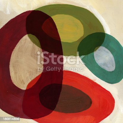 istock Composition with ovals 186814856