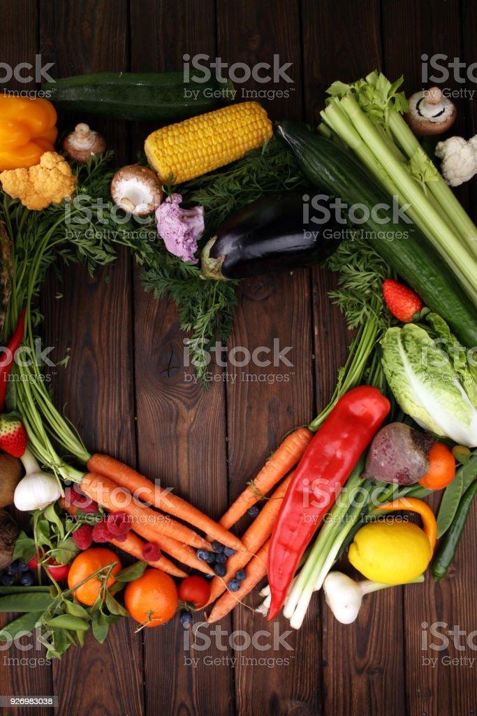 dieta de vegetales crudos y frutas