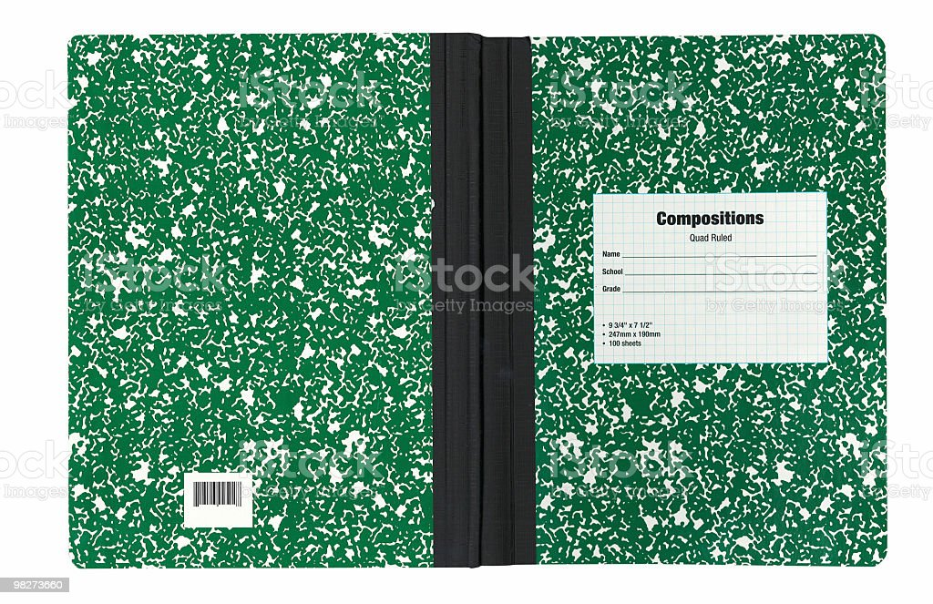 Compositions book royalty-free stock photo