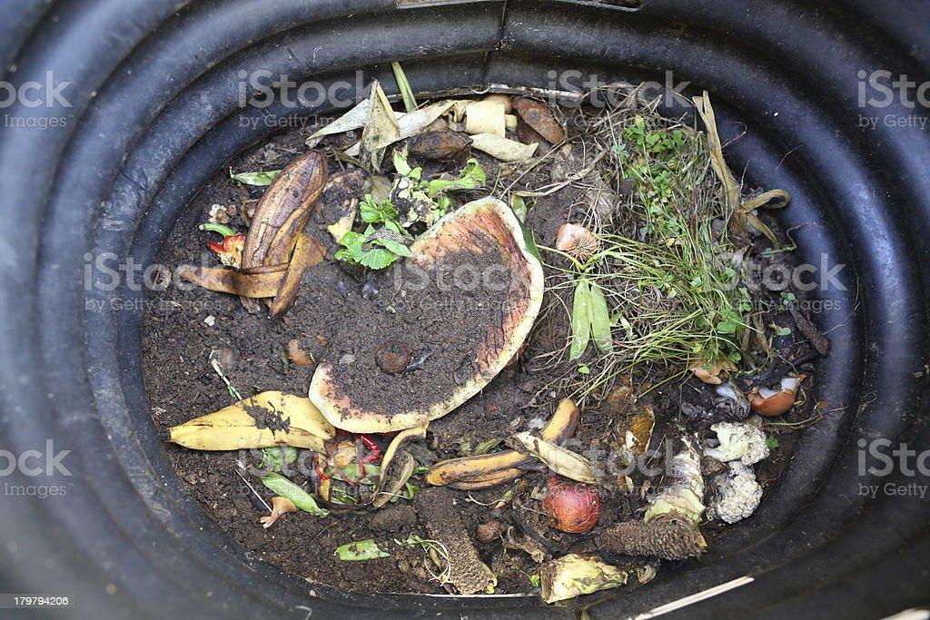 Compost Bin royalty-free stock photo