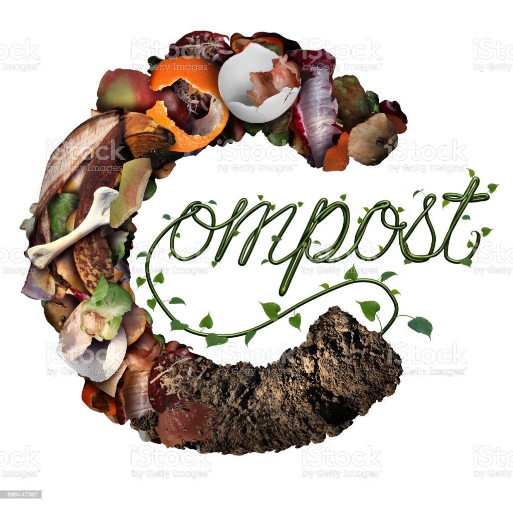 Compost Concept stock photo