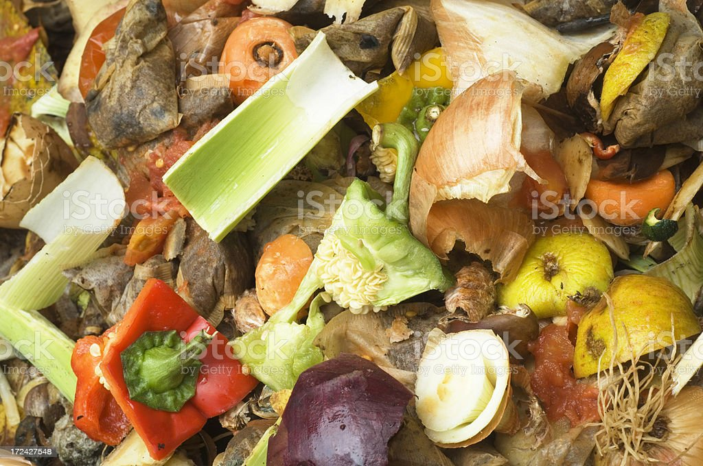 Compost Heap royalty-free stock photo