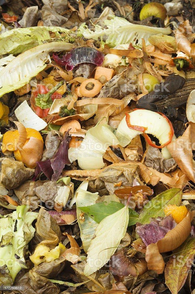 Compost Heap stock photo