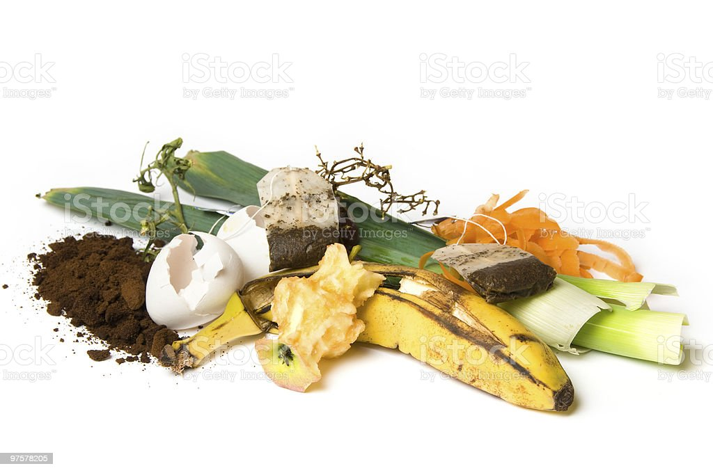 Compost photo libre de droits