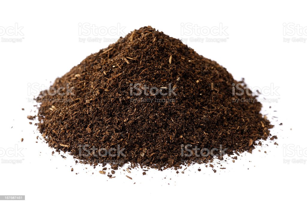Compost Pile royalty-free stock photo