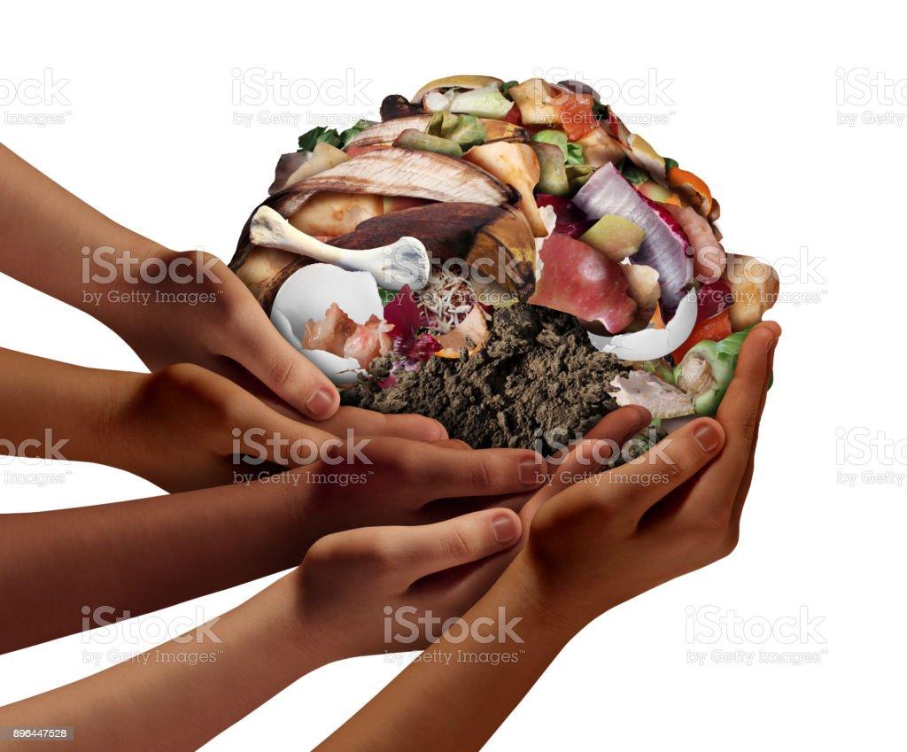 Composting Community stock photo