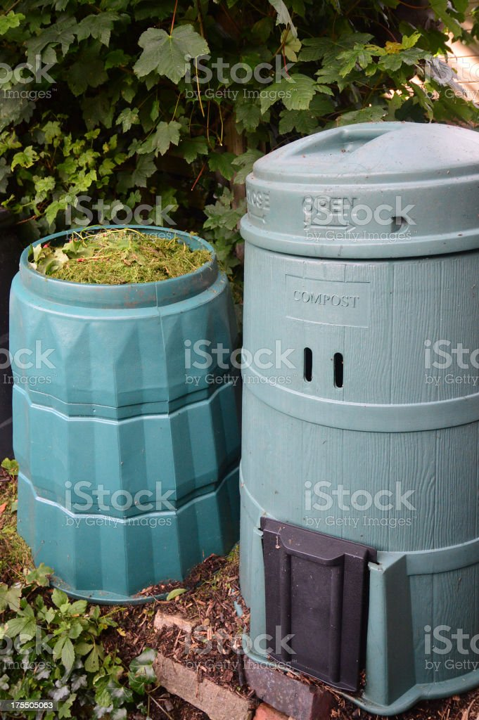 Composting royalty-free stock photo