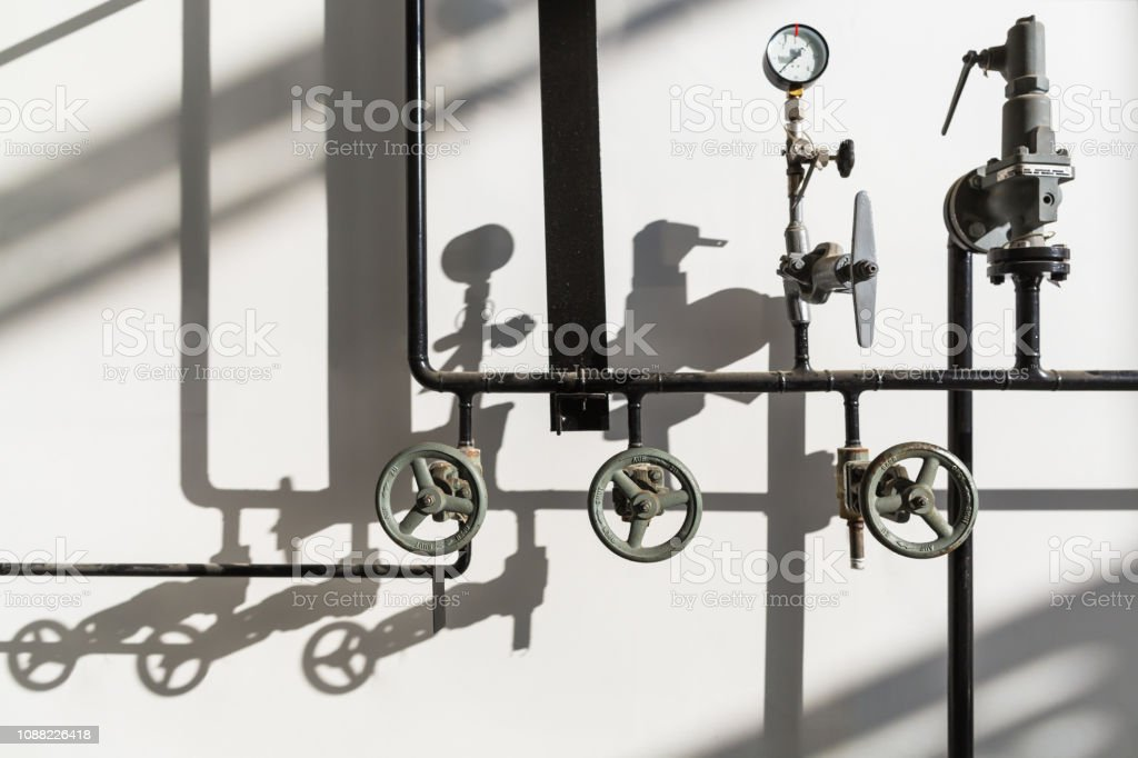 Compressed Air Piping Stock Photo - Download Image Now - iStock