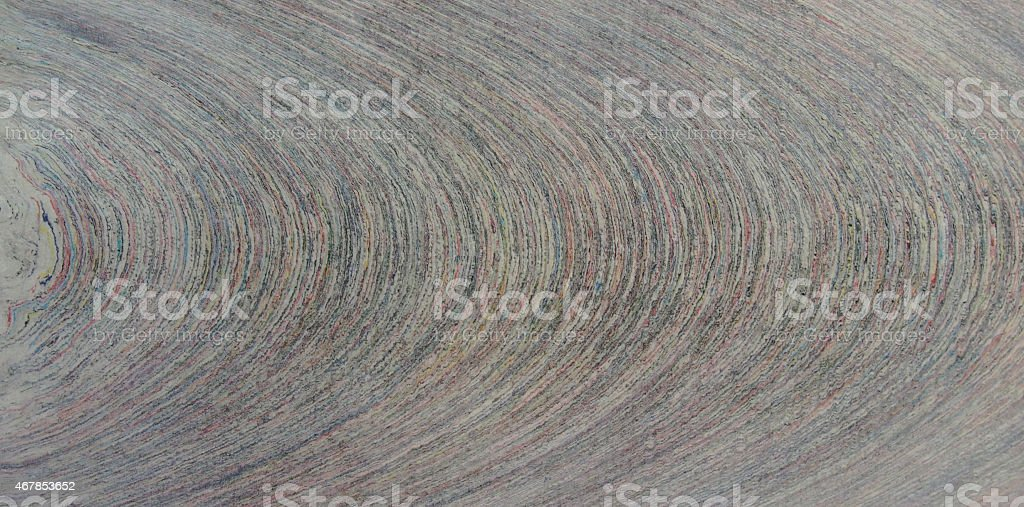 Compressed recycled paper stock photo