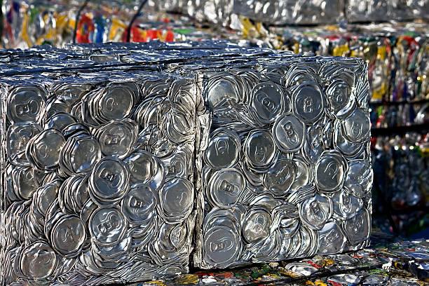 compressed tin cans - balpress bildbanksfoton och bilder