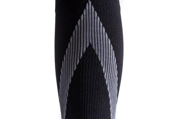 Compression sock close up stock photo