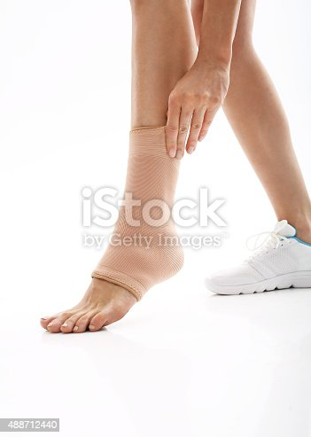 867056016istockphoto Compression stabilizer ankle 488712440