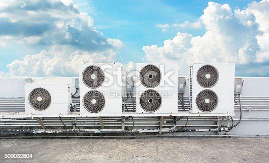 istock compressor of air condition 509032804