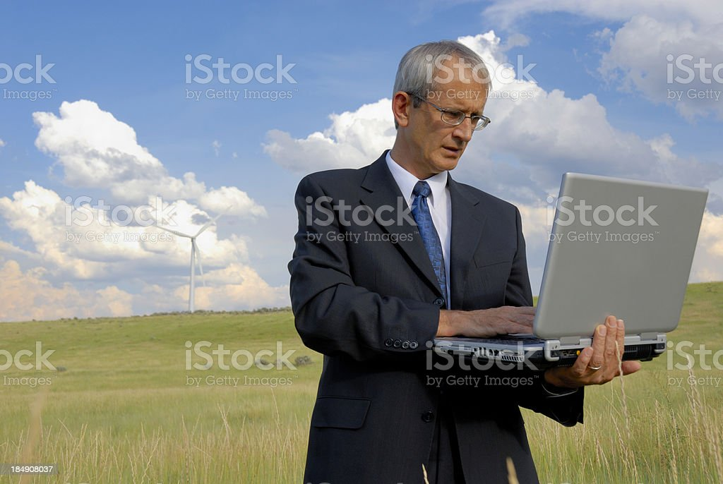 Compute Anywhere royalty-free stock photo