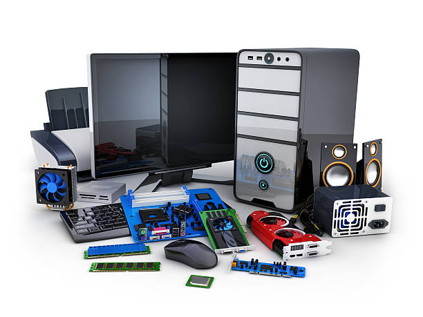 Computer and part – Foto
