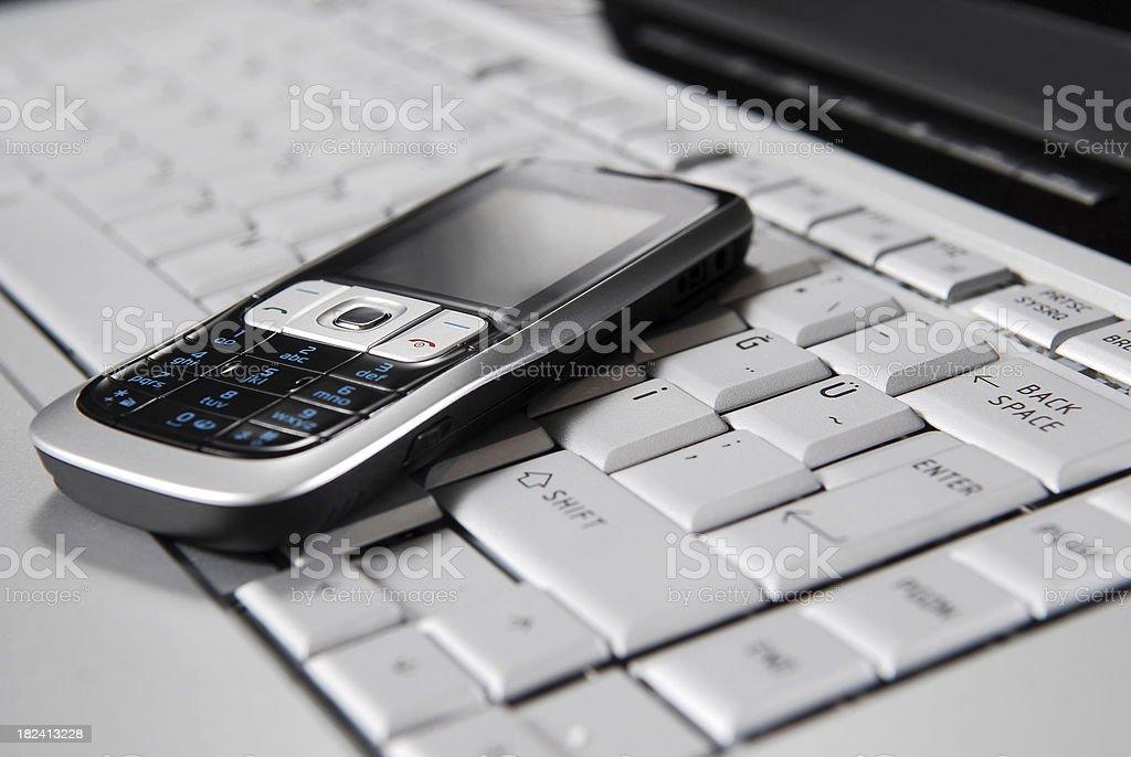 computer and telecommunication technology royalty-free stock photo