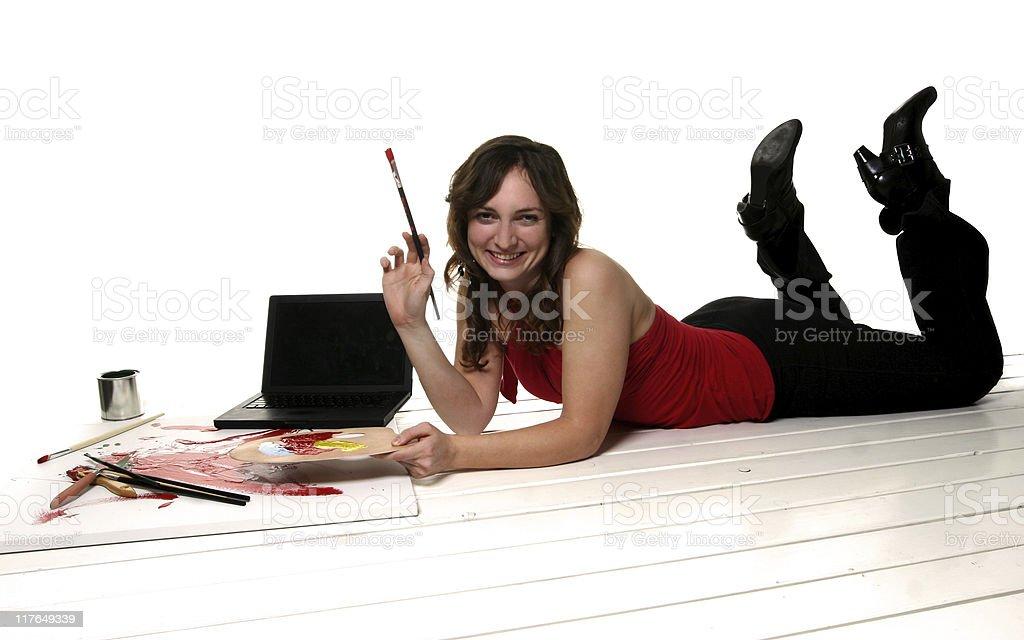 Computer Arts Portraits royalty-free stock photo