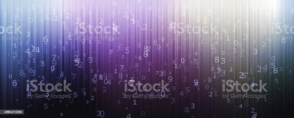 Computer background with numbers stock photo