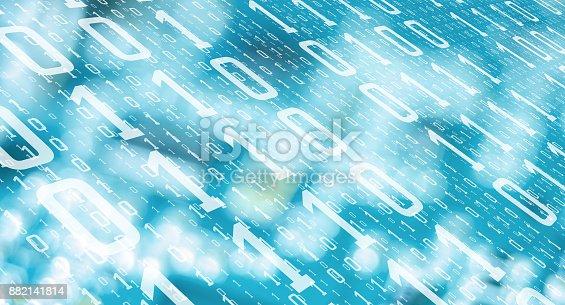 882141812istockphoto Computer big data theft, cyber attack background 882141814