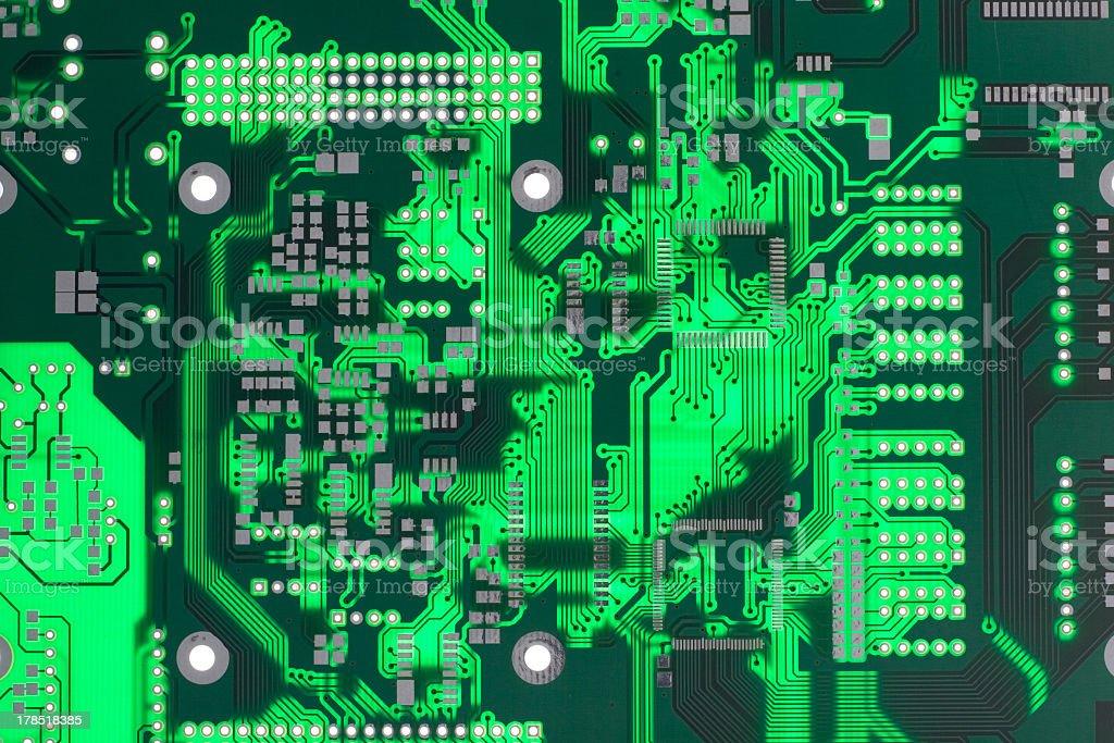 Computer board royalty-free stock photo
