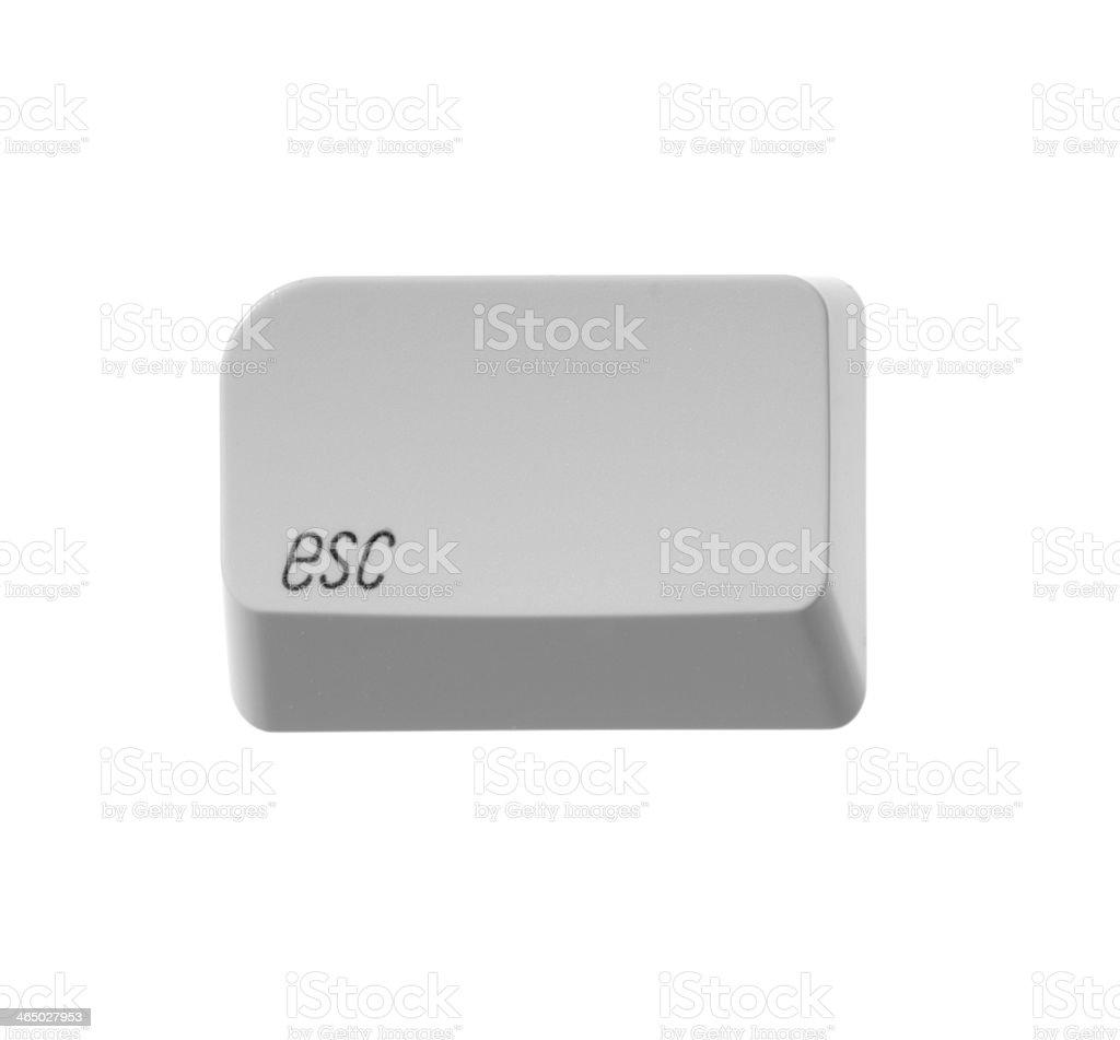 computer button ESC stock photo