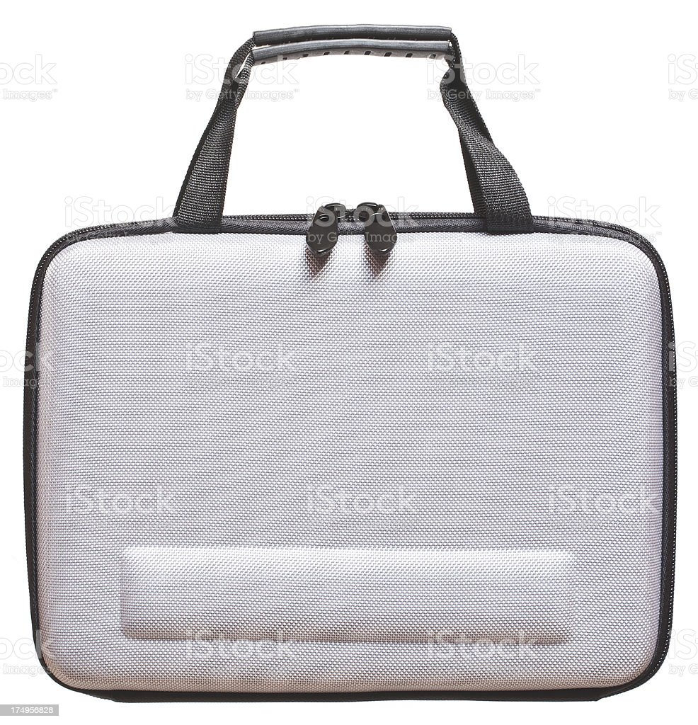 Computer carry case royalty-free stock photo