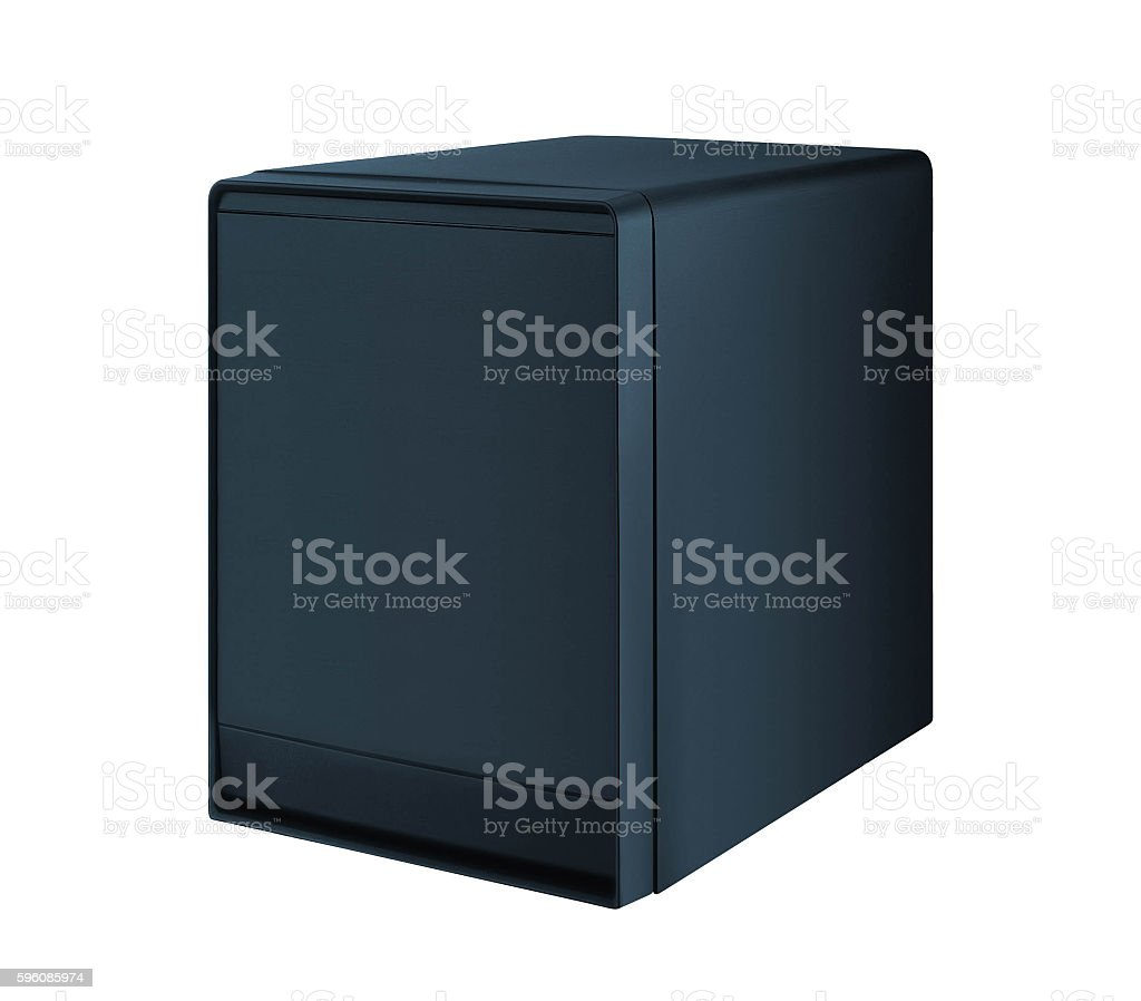 Computer Case isolated royalty-free stock photo