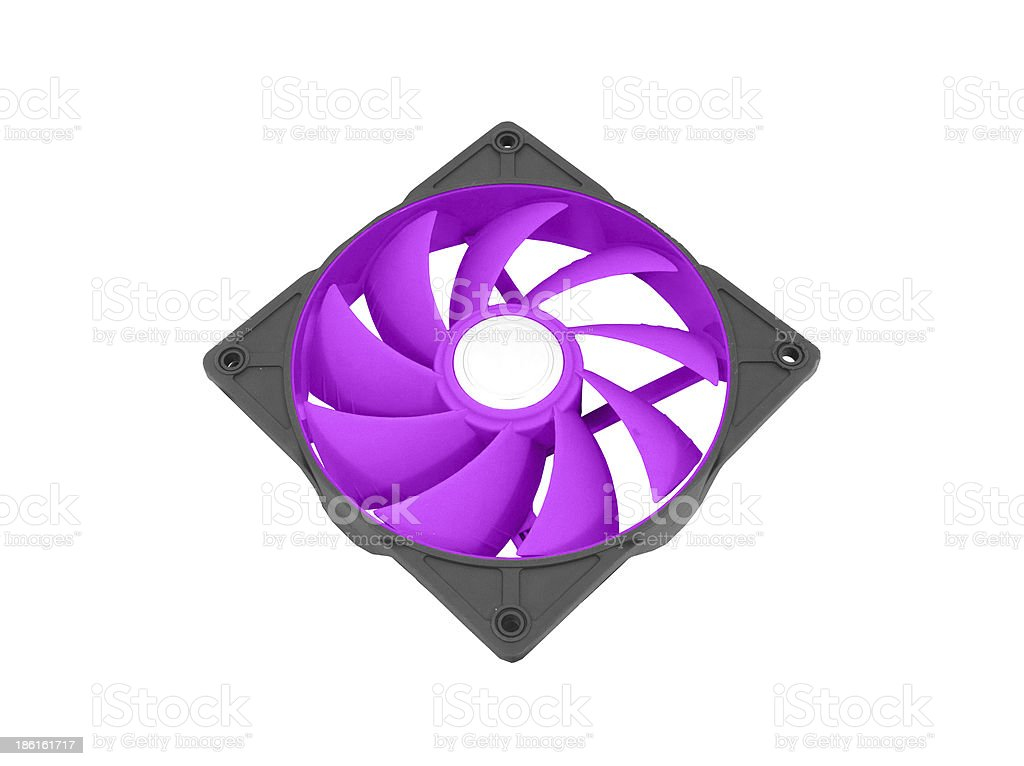 Computer chassis/CPU cooler stock photo