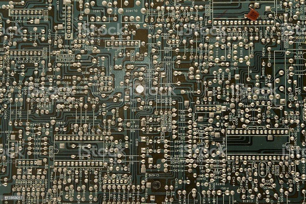 Chip de ordenador foto de stock libre de derechos