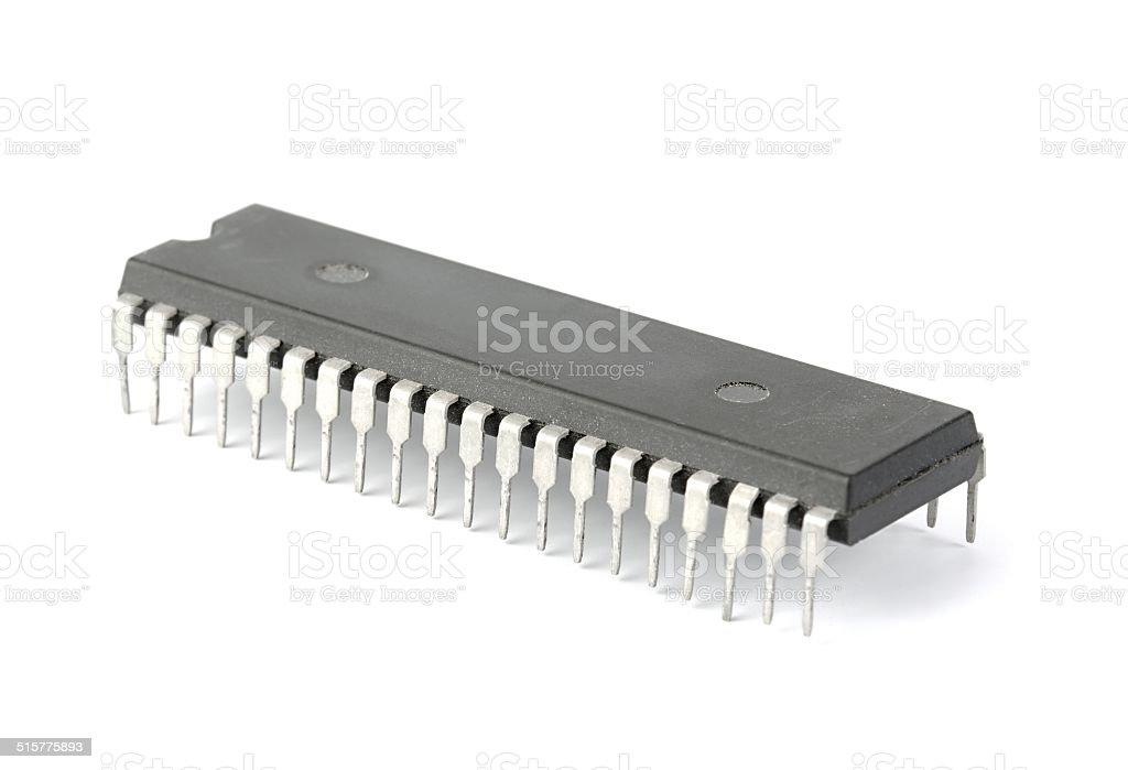 Chip de computador - foto de acervo