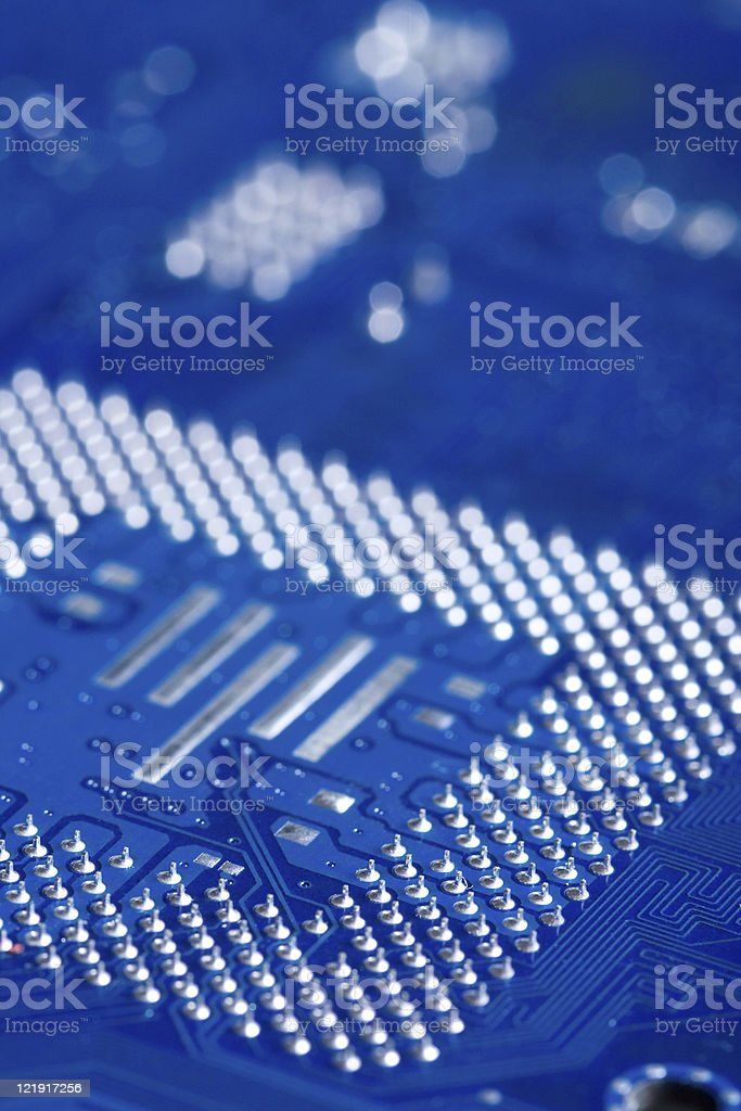 Computer Circuit Board royalty-free stock photo