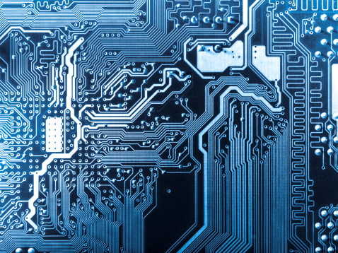 Computer Circuit Board Stock Photo - Download Image Now ...