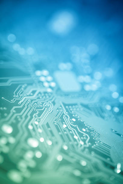 computer circuit board - mother board stock photos and pictures