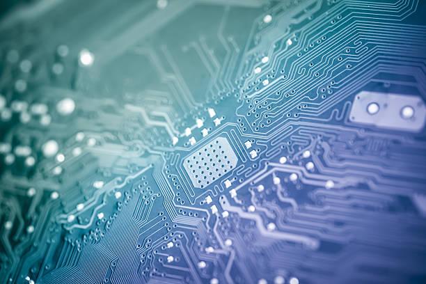 Computer circuit board – Foto