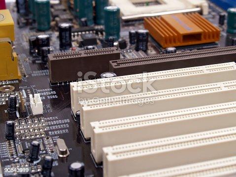 istock Computer Circuit Board 90843919