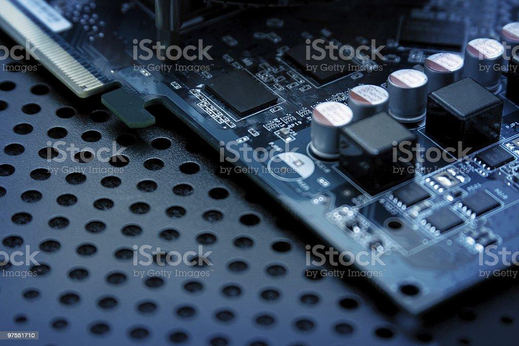 Ordinateur Circuit intégré photo libre de droits