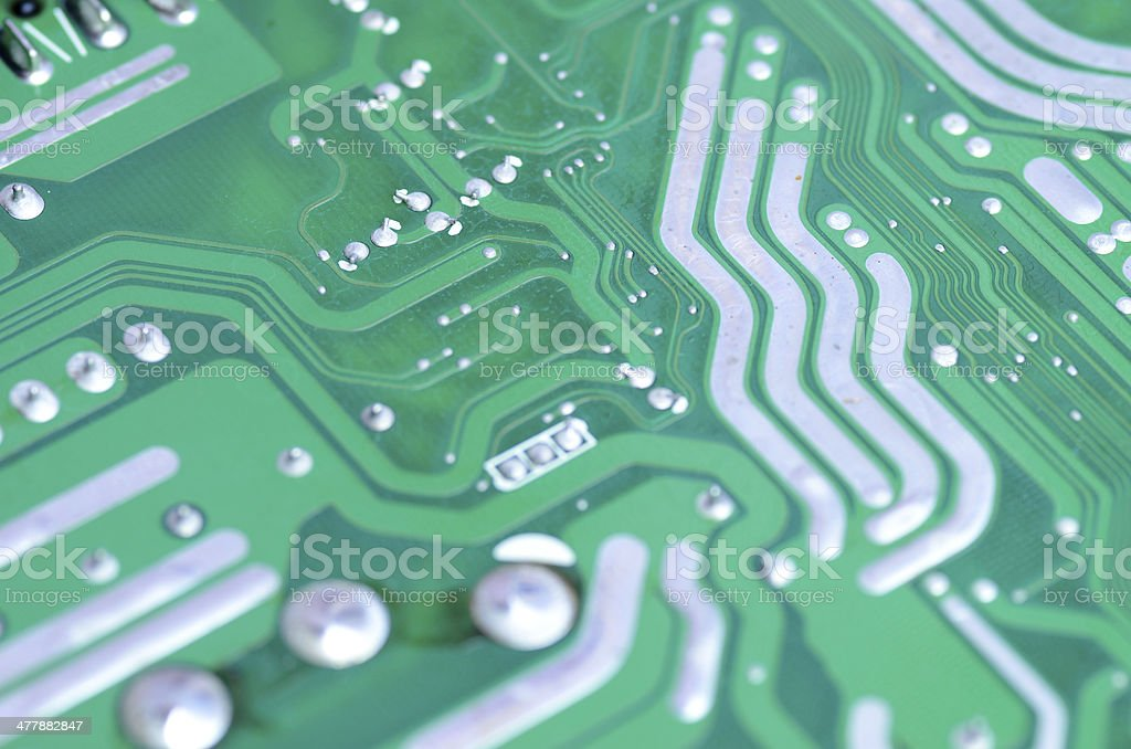 Computer circuit boards. royalty-free stock photo