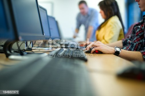 istock computer class 154932372