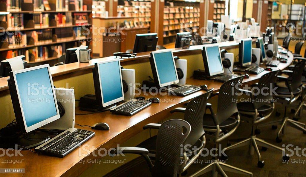 Computer Classroom royalty-free stock photo