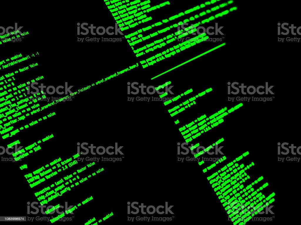 Computer Command Line Interface Cli Unix Bash Shell Closeup