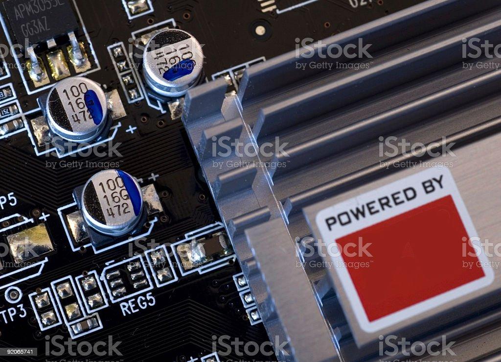 Computer Component stock photo