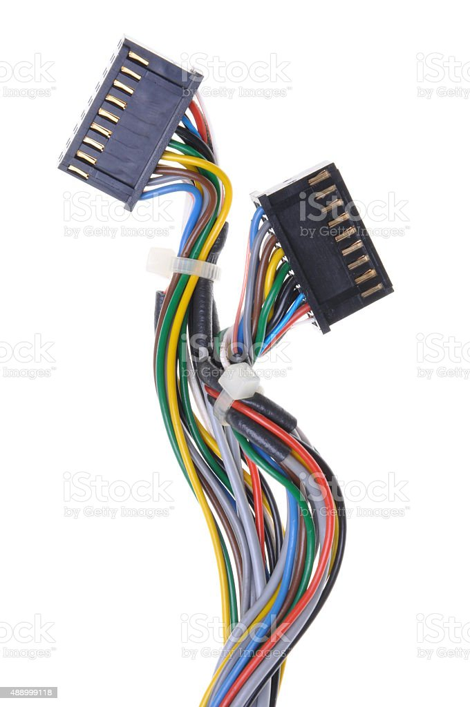 Computer Connection Cables And Plugs Stock Photo & More Pictures of ...